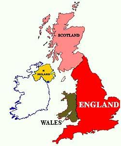 Angleterre Grande Bretagne Royaume Uni Définitions