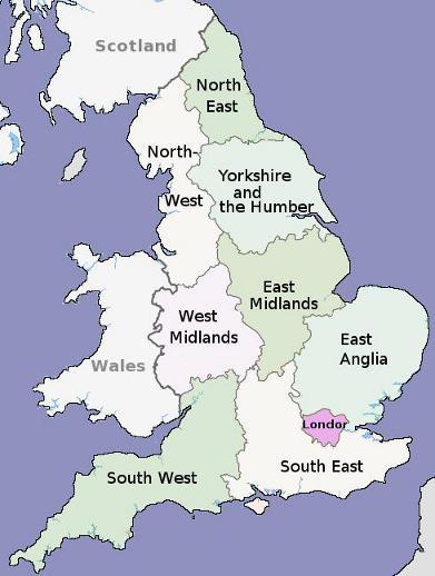 Les Plus Grandes Villes Anglaises