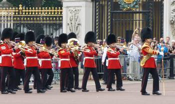 garde royale devant Buckingham