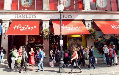 Magasin Hamleys à Londres